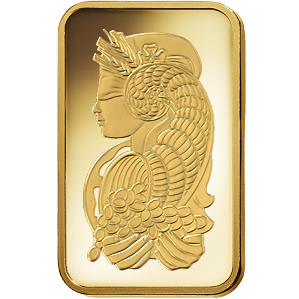 PAMP Suisse Fortuna 1g Gold Bar (Image 3)