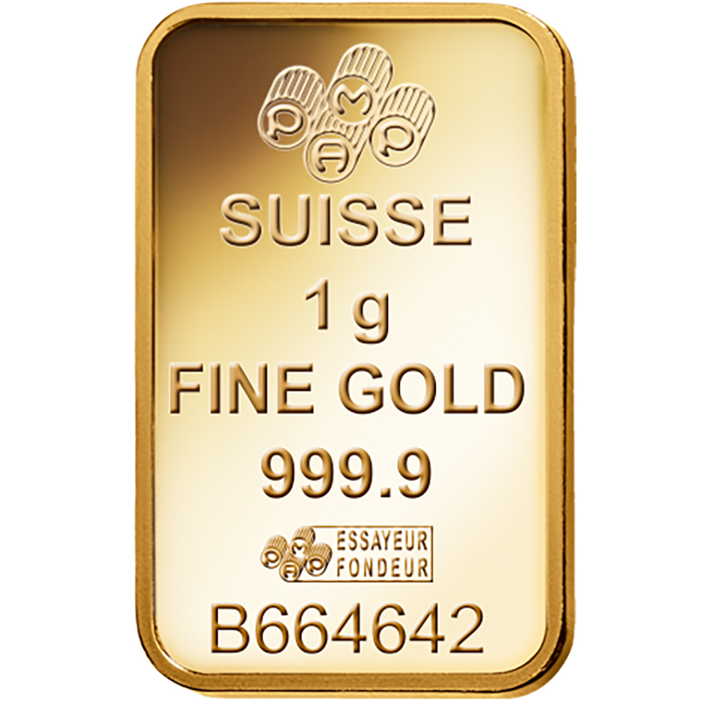 PAMP Suisse Fortuna 1g Gold Bar (Image 4)