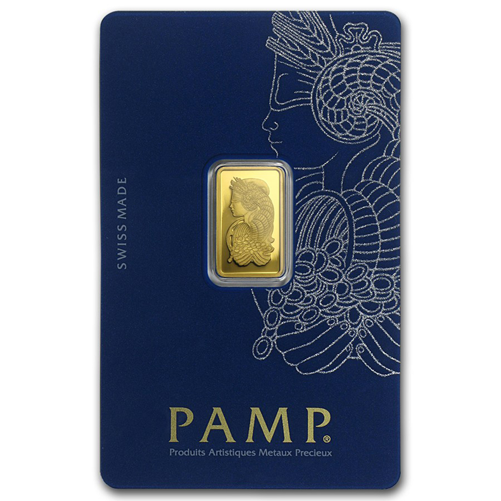 PAMP Suisse 2.5g Fortuna Gold Bar