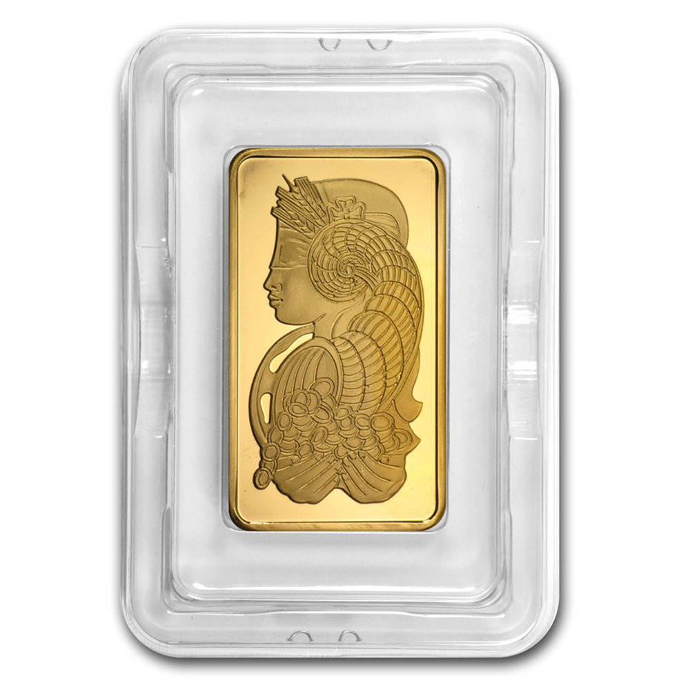 PAMP Suisse Fortuna 5oz Gold Bar