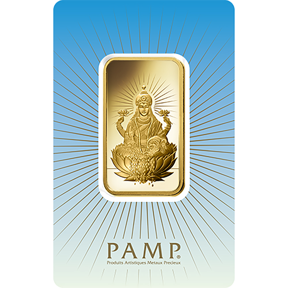 Pamp Faith Lakshmi 1oz Gold Bar Superb Prices