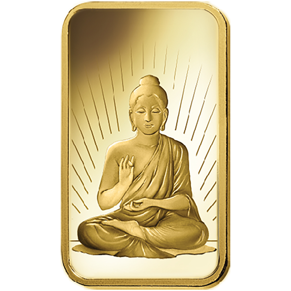 Pamp Faith Buddha 10g Gold Bar Small Gold Bullion Bars