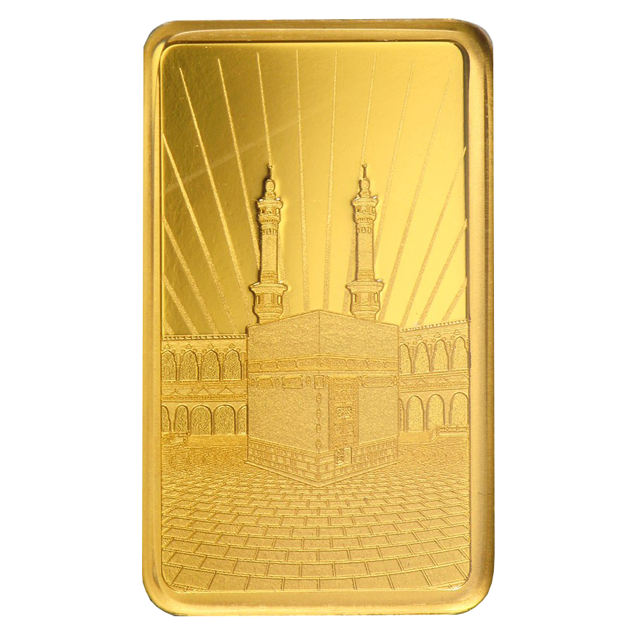 PAMP 'Faith' Ka ´Bah, Mecca 5g Gold Bar (Image 3)
