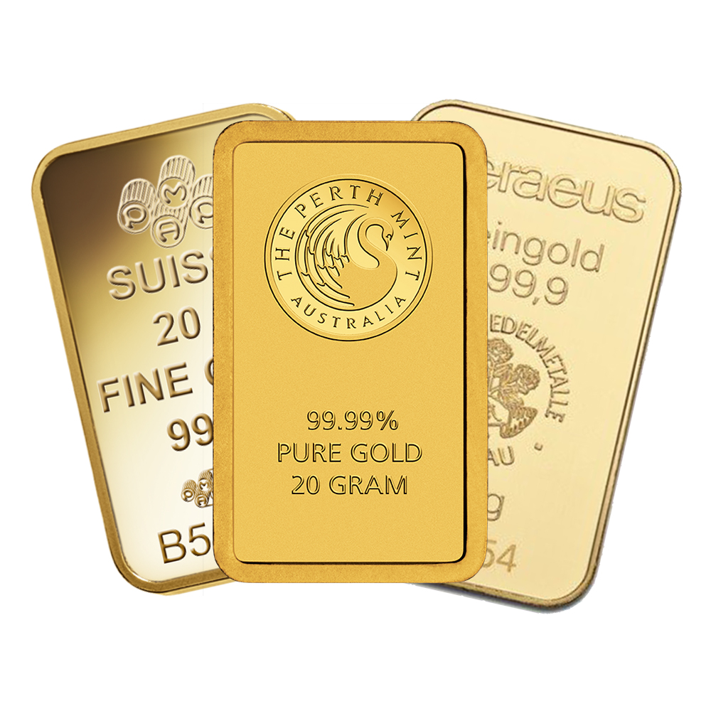 Pre Owned 20g Gold Bar Free Delivery Cheap Atkinsons