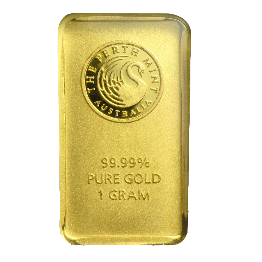 Perth Mint 1g Gold Bar (Image 3)