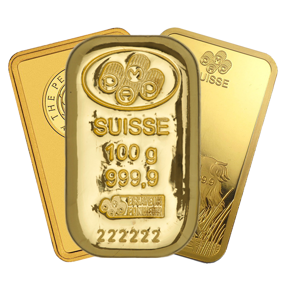 100g Gold Bar - Certificated