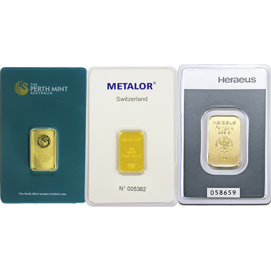 10g Gold Bar - Certificated