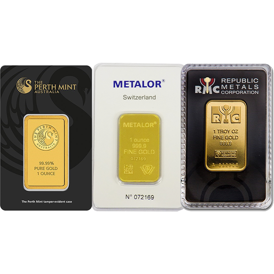 1oz Gold Bar - Certificated