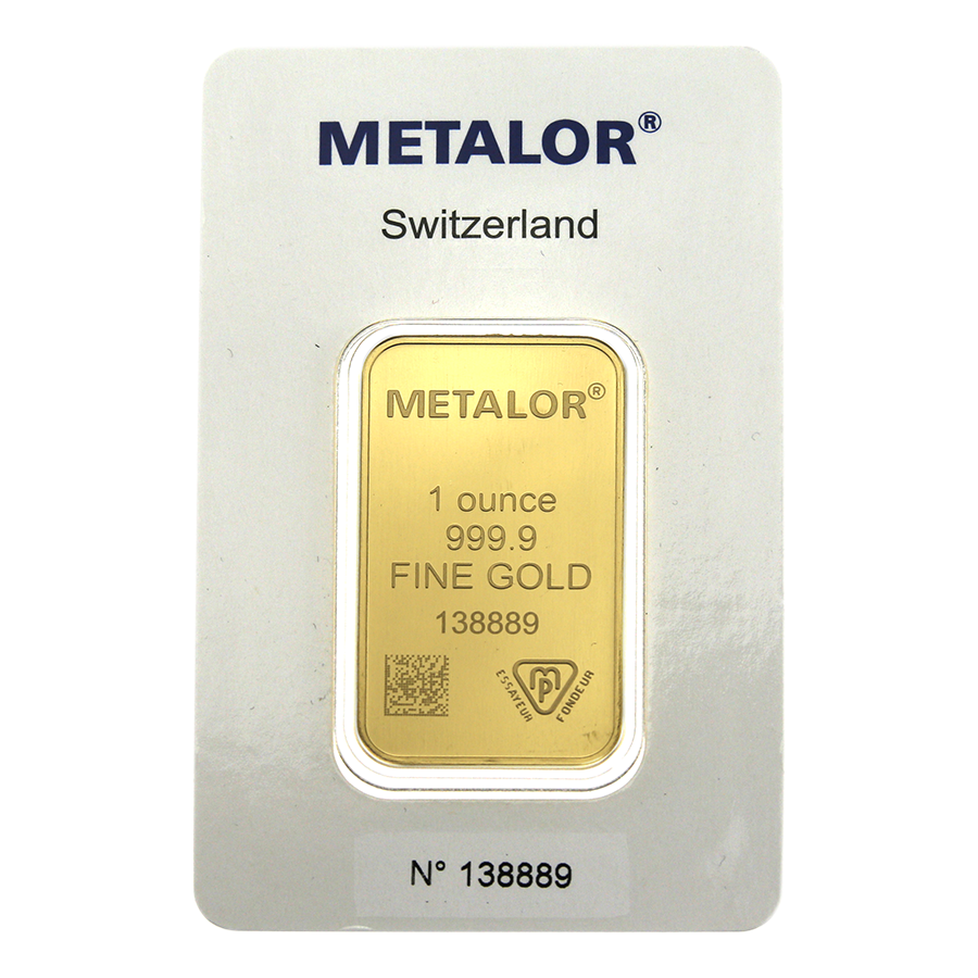 Metalor 1oz Gold 10 Bar Bundle (Image 3)