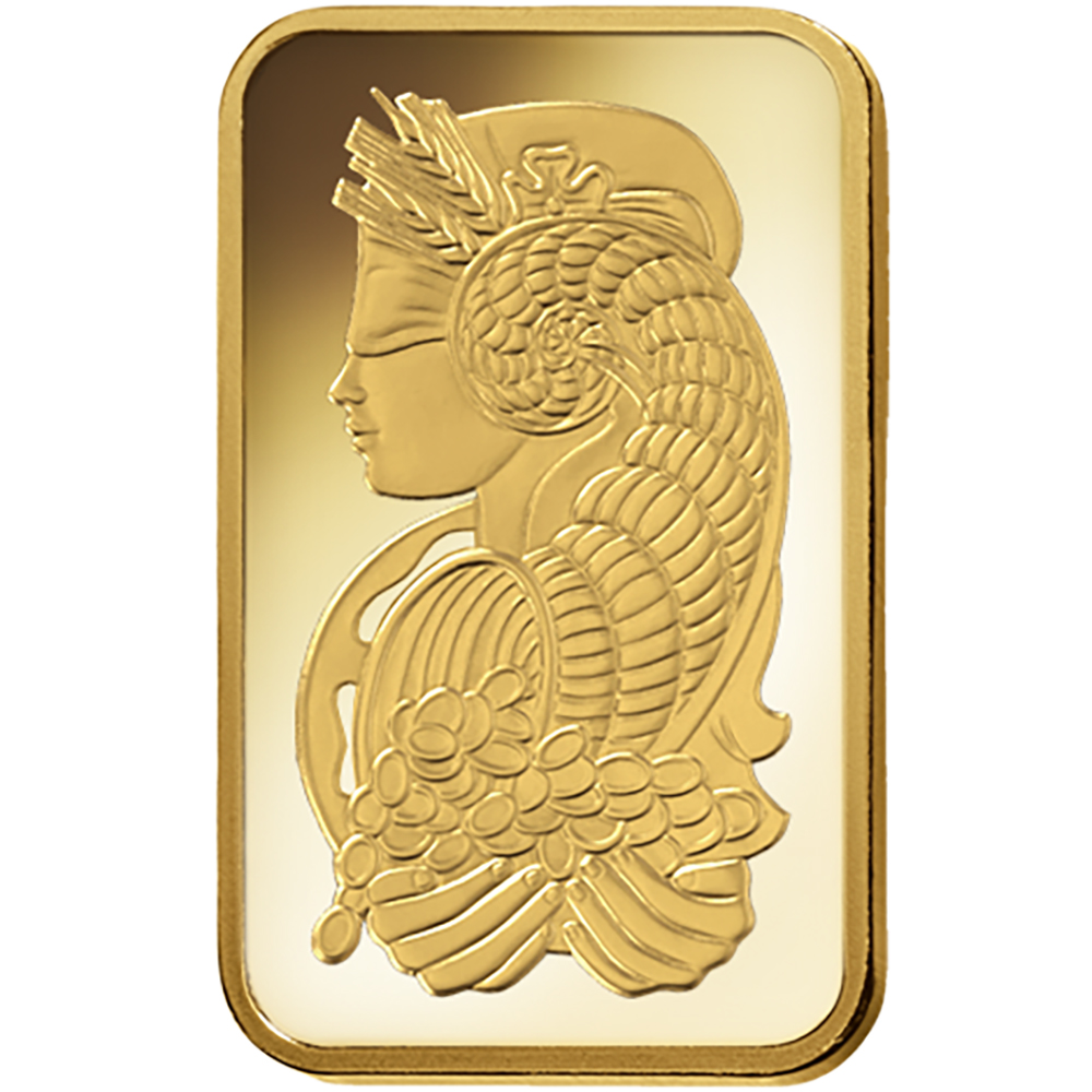 PAMP Suisse Fortuna 5g Gold Bar with Gift Box & Certificate (Image 3)