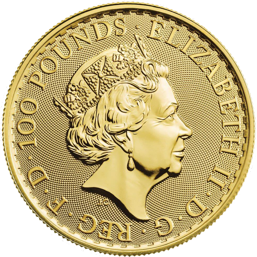 2019 UK Britannia 1oz Gold Coins - Full Tube of 10 Coins (Image 3)