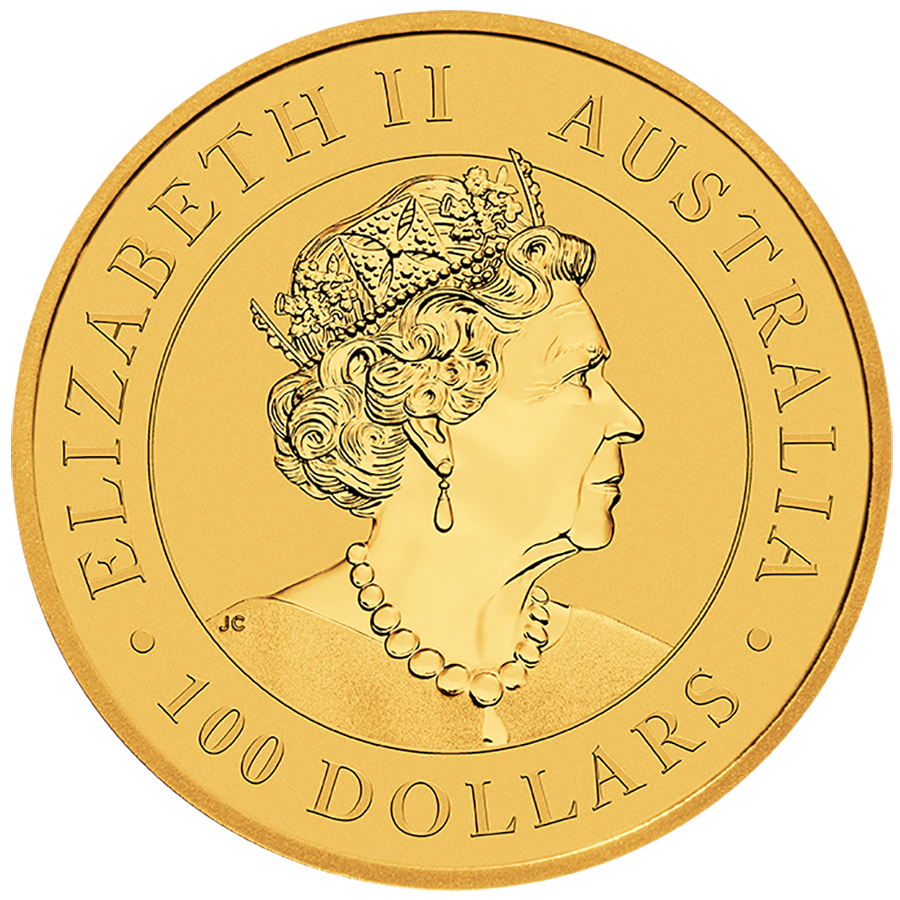 2019 Australian Kangaroo 1oz Gold - Roll of 10 Coins (Image 2)