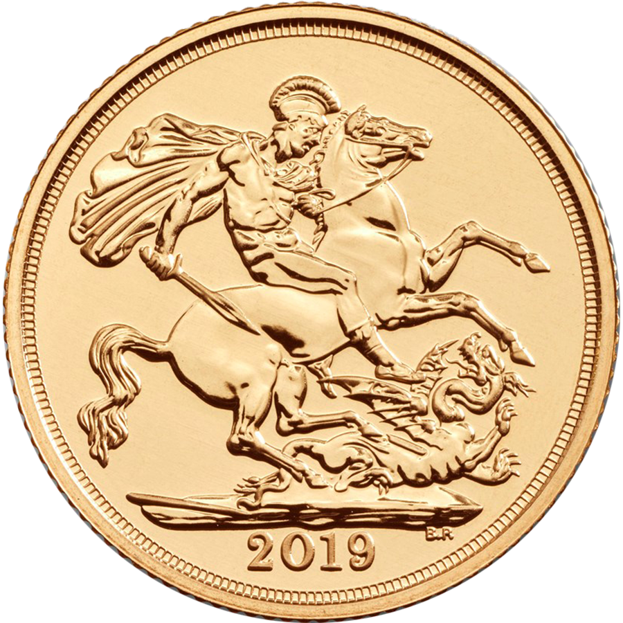 2019 UK Full Sovereign 125 Gold Coin Mini Box (Image 3)