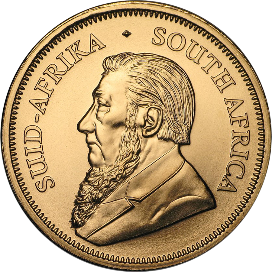 2019 South African Krugerrand 1oz Gold Coins - Full Tube of 10 Coins (Image 3)