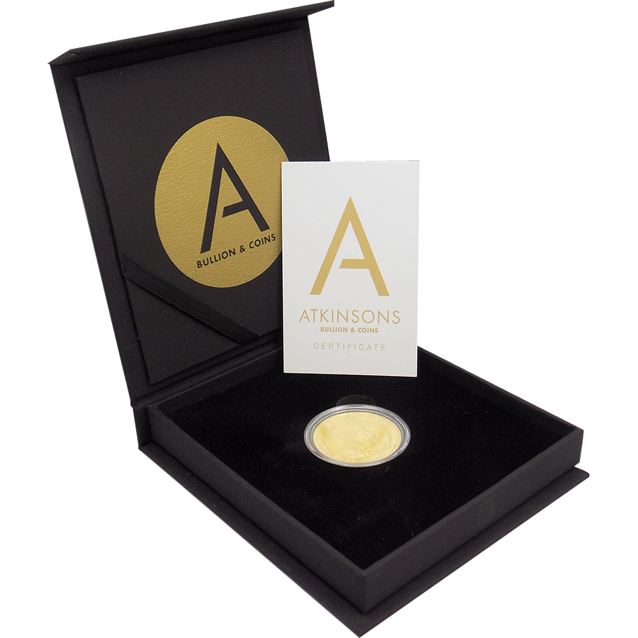 2017 UK Britannia 1oz Gold Coin with Gift Box & Certificate (Image 2)