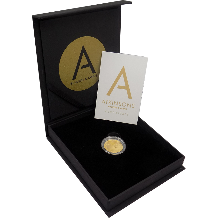2017 UK Britannia 1/4oz Gold Coin with Gift Box & Certificate (Image 2)