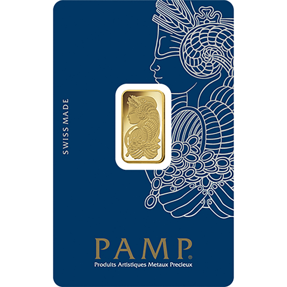 PAMP Suisse Fortuna 5g Gold 25 Bar Box (Image 3)