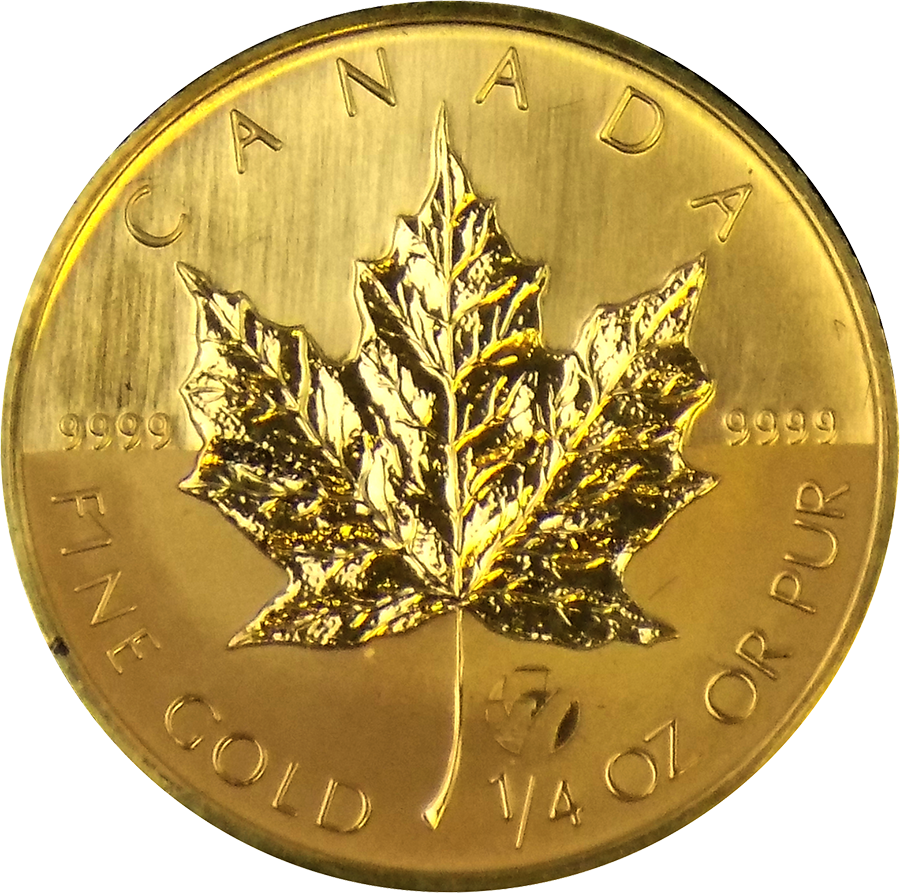 2006 Canadian Maple 1 4oz M7 Privy Gold Coin Free