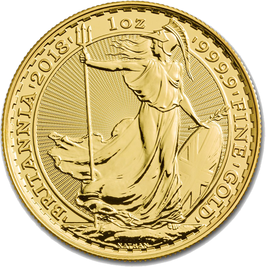 2018 UK Britannia 1oz Gold Coin