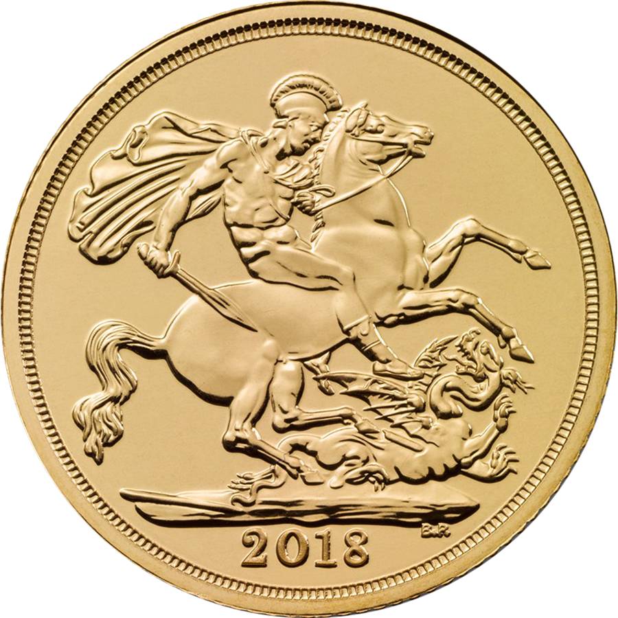 2018 Uk Half Sovereign Gold Coin Free Delivery