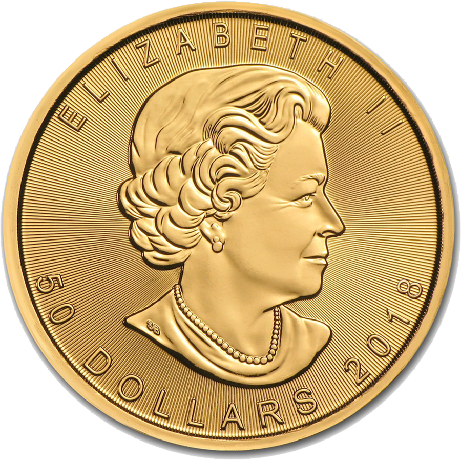 2018 Canadian Maple 1oz Gold Coin (Image 2)