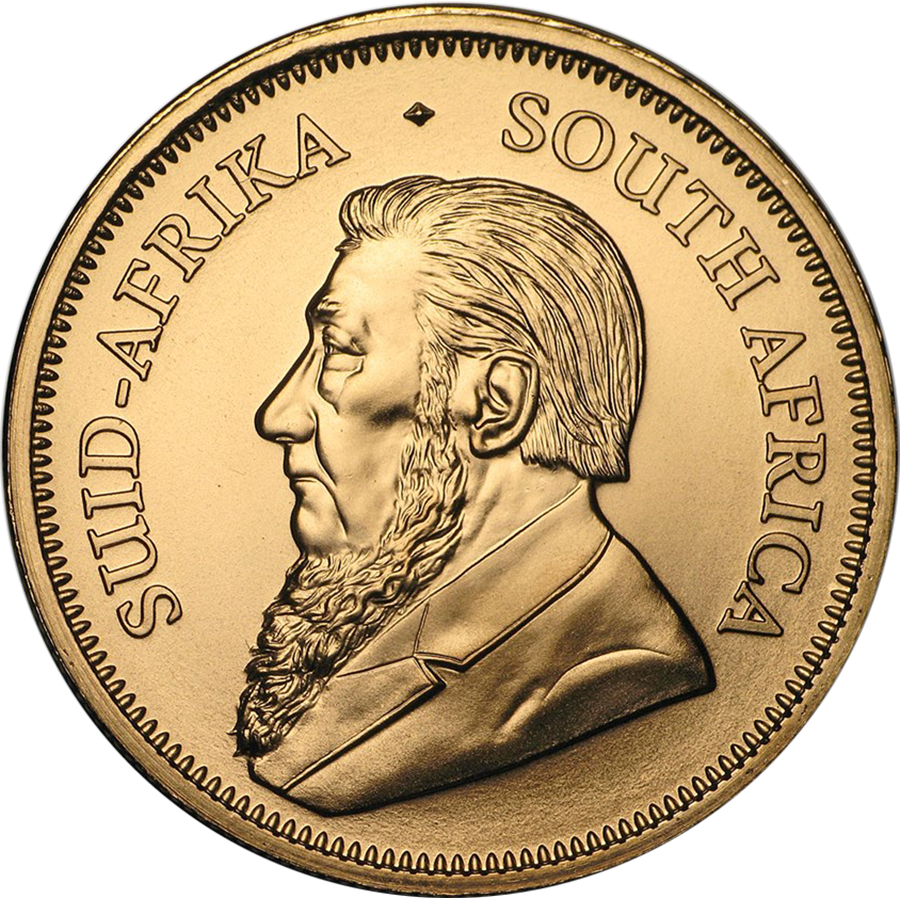 2018 South African Krugerrand 1oz Gold Coin (Image 2)