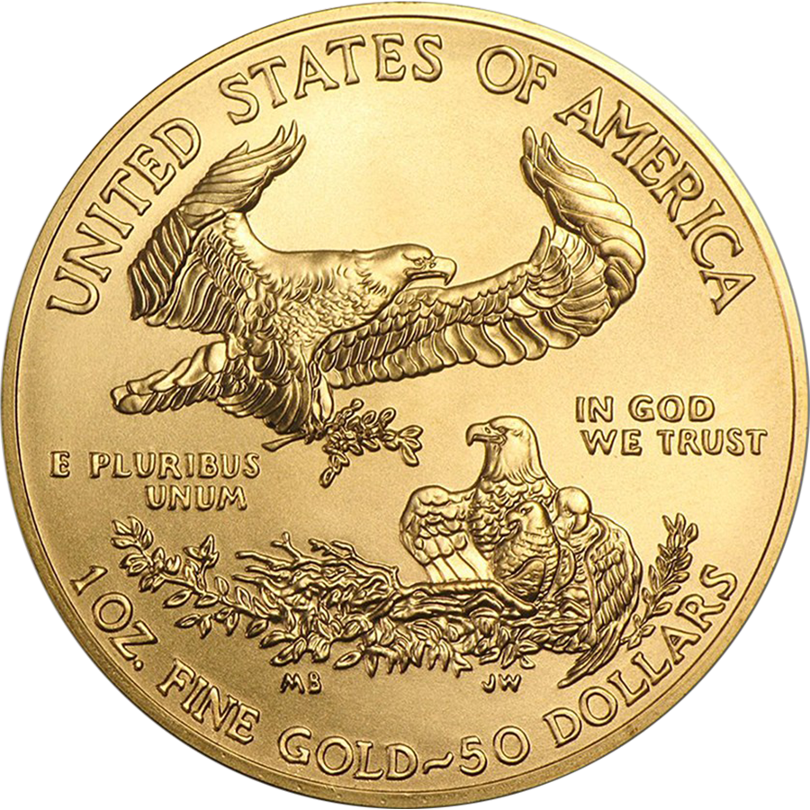 2018 USA Eagle 1oz Gold Coin (Image 2)
