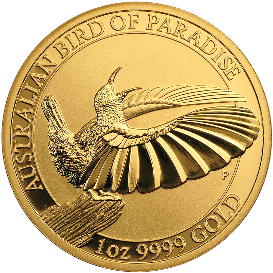 2018 Australian Bird of Paradise Victoria's Riflebird 1oz Gold Coin
