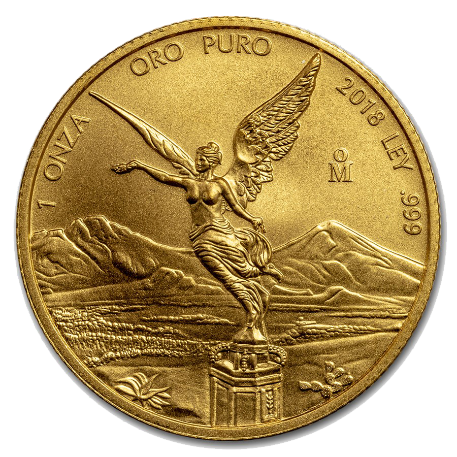 2018 Mexican Libertad 1oz Gold Coin