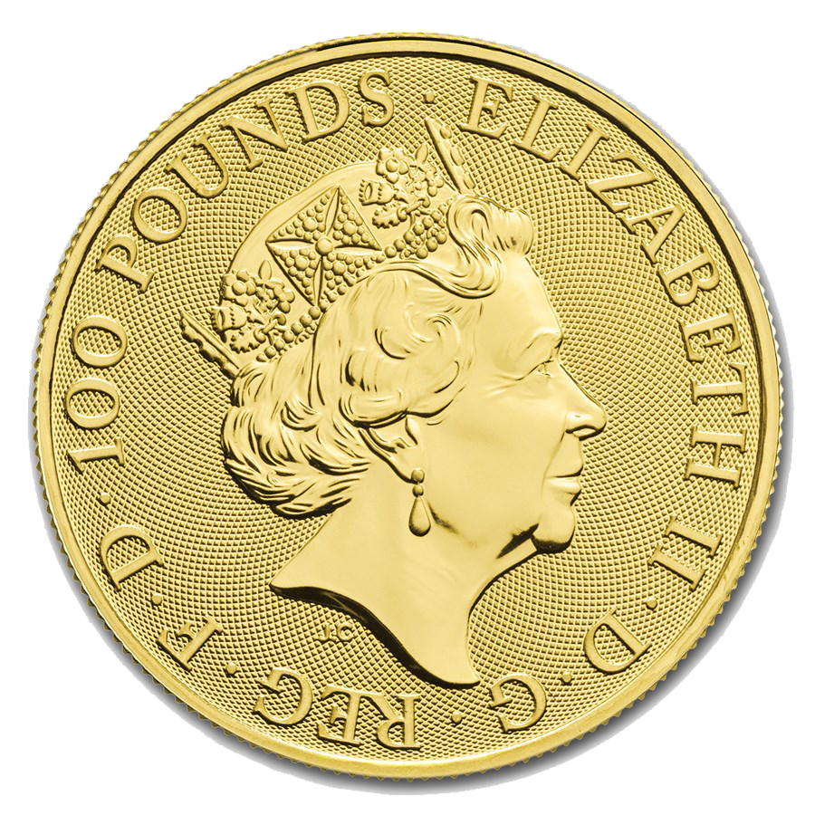 2019 UK Lunar Pig 1oz Gold Coin (Image 2)