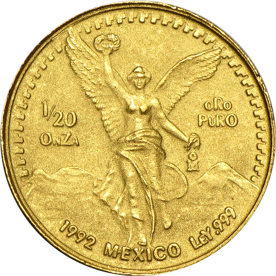 Pre Owned 1992 Mexican Libertad 1 20oz Gold Coin Gold Online
