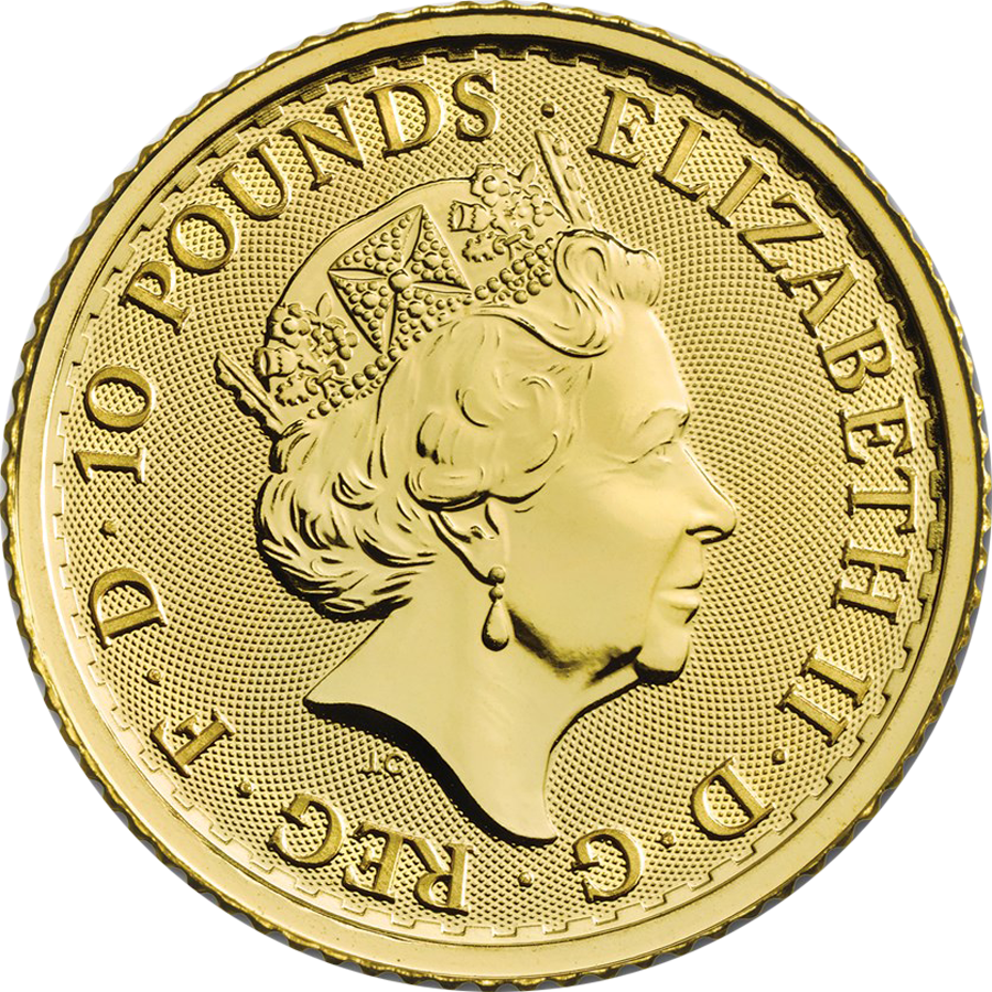 2019 UK Britannia 1/10oz Gold Coin (Image 2)