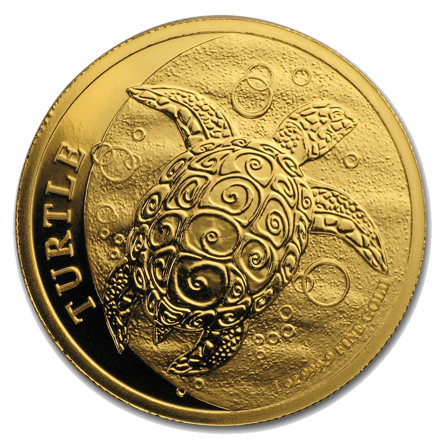 2019 Niue Hawksbill Turtle 1oz Gold Coin