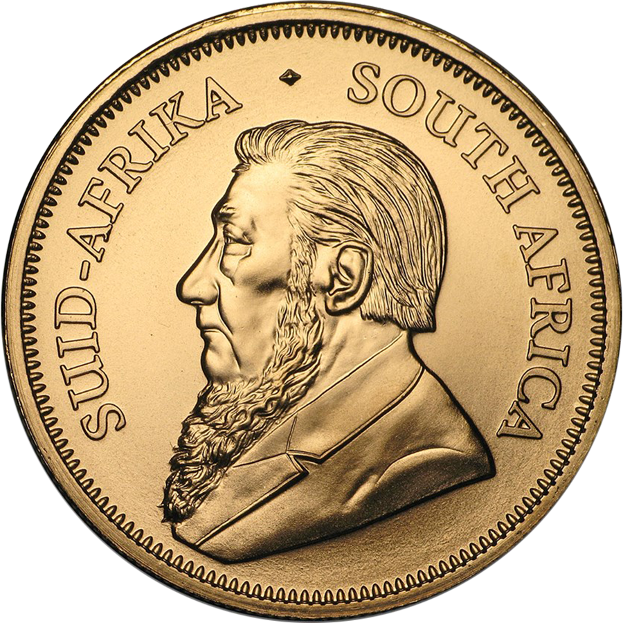 2019 South African Krugerrand 1oz Gold Coin (Image 2)