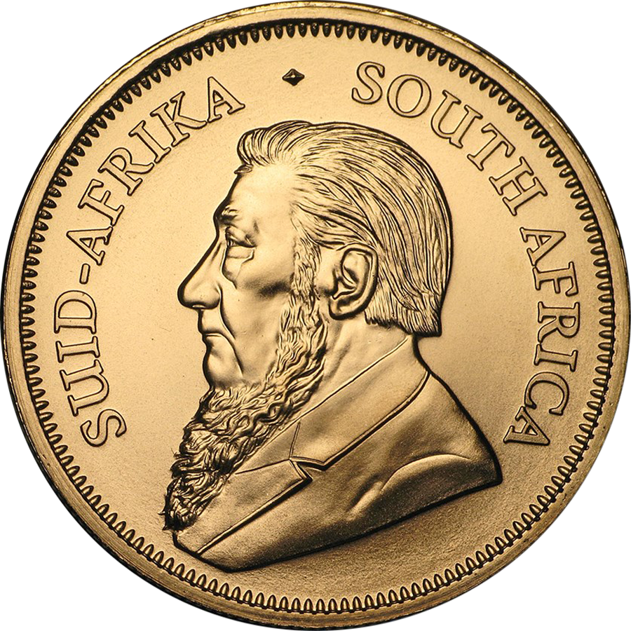 2019 South African Krugerrand 1/10oz Gold Coin (Image 2)