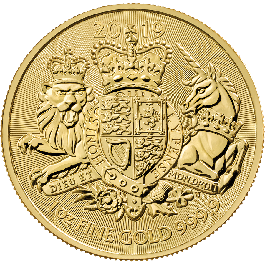2019 UK Coat of Arms 1oz Gold Coin