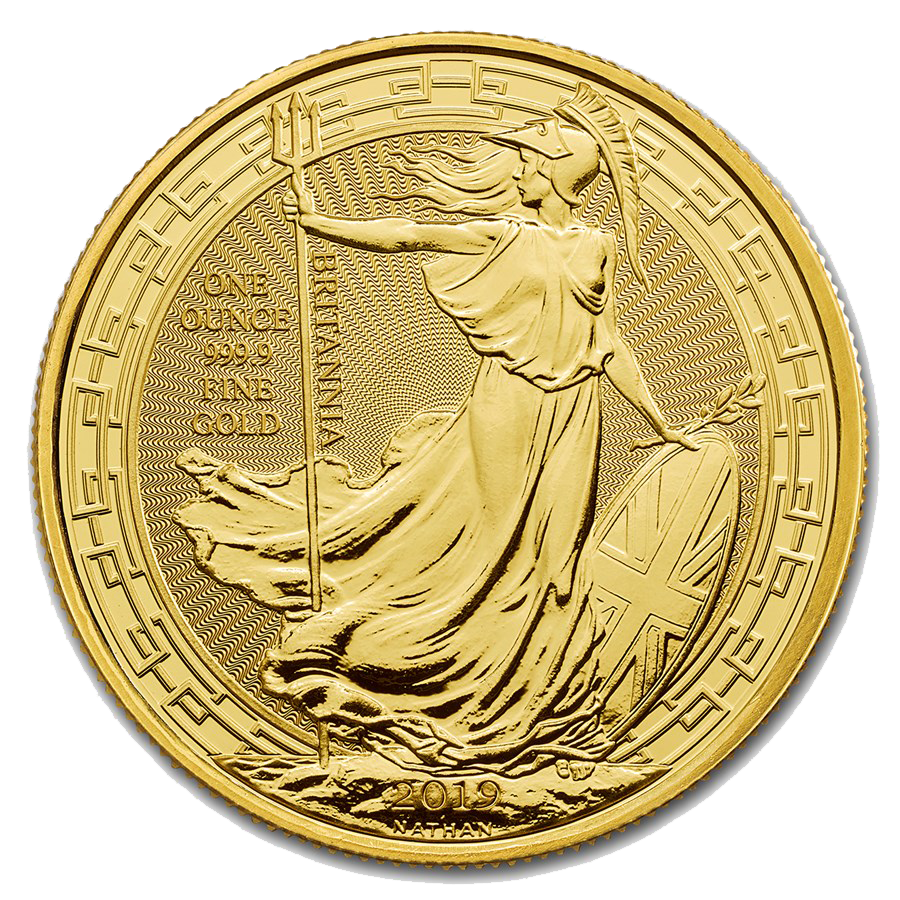 2019 UK Britannia Oriental Border 1oz Gold Coin