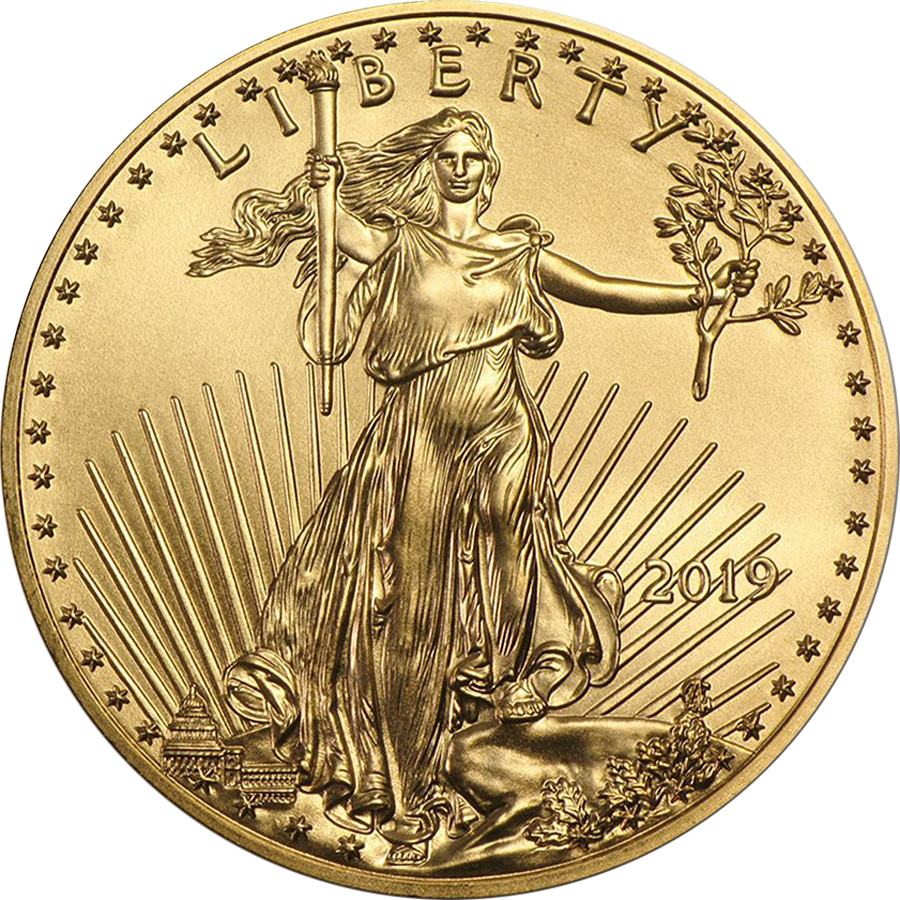 2019 USA Eagle 1/2oz Gold Coin