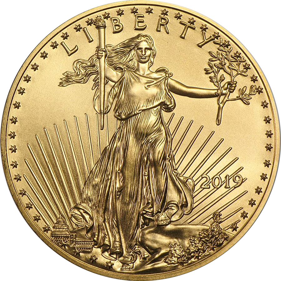 2019 USA Eagle 1/10oz Gold Coin
