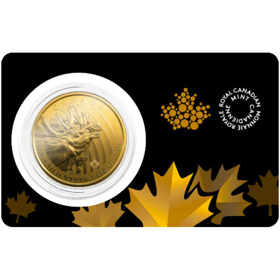 2019 Canadian Moose 1oz Gold Coin