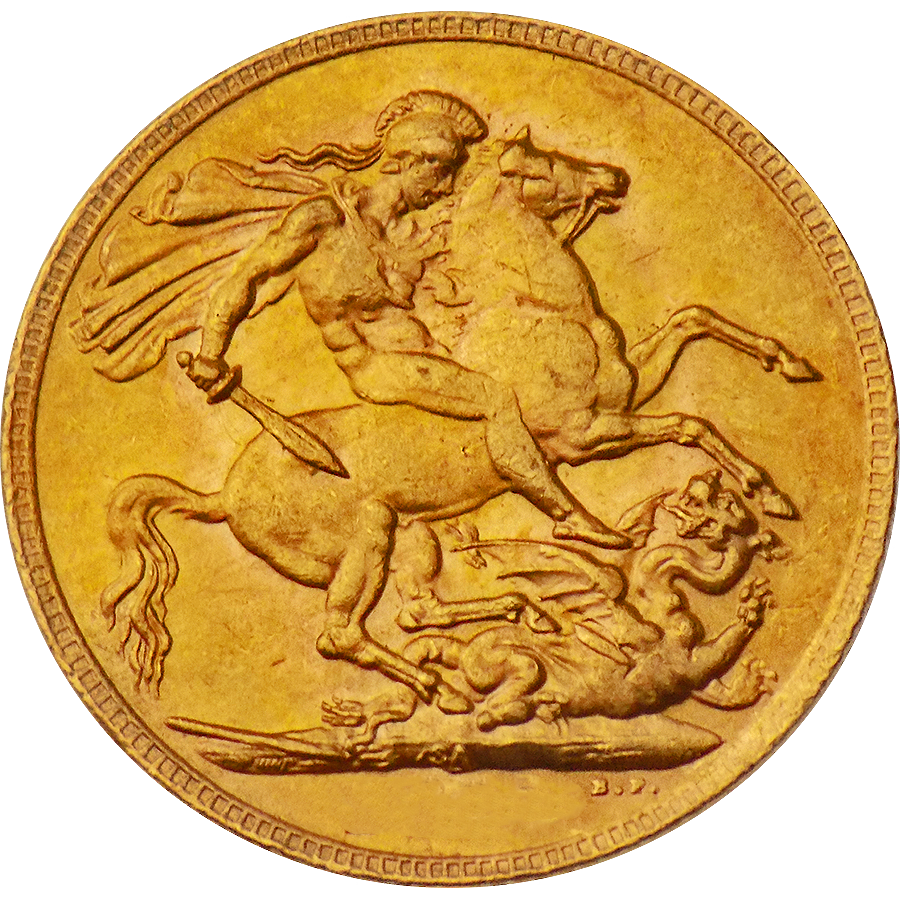 Pre-Owned UK George V Full Sovereign Gold Coin - Mixed Dates (Image 2)