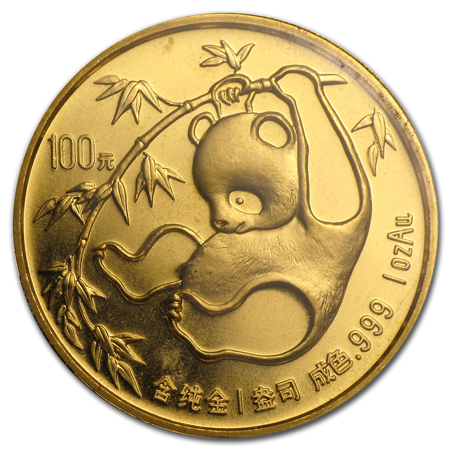Pre-Owned 1985 Chinese Panda 1oz Gold Coin