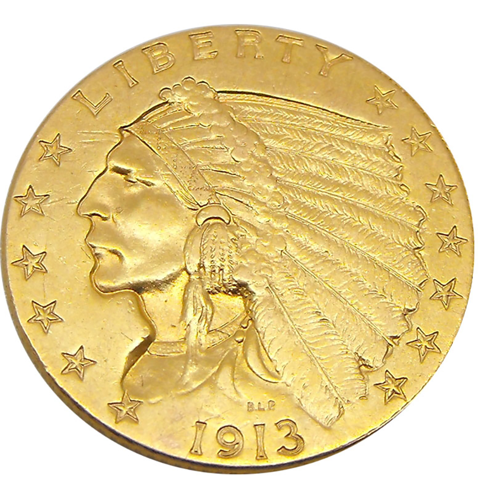Pre Owned Usa 2 5 Quarter Eagle Indian Head Gold Coin