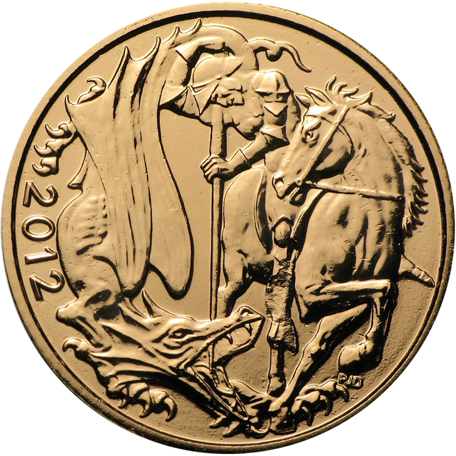 Pre-Owned 2012 UK Full Sovereign Gold Coin