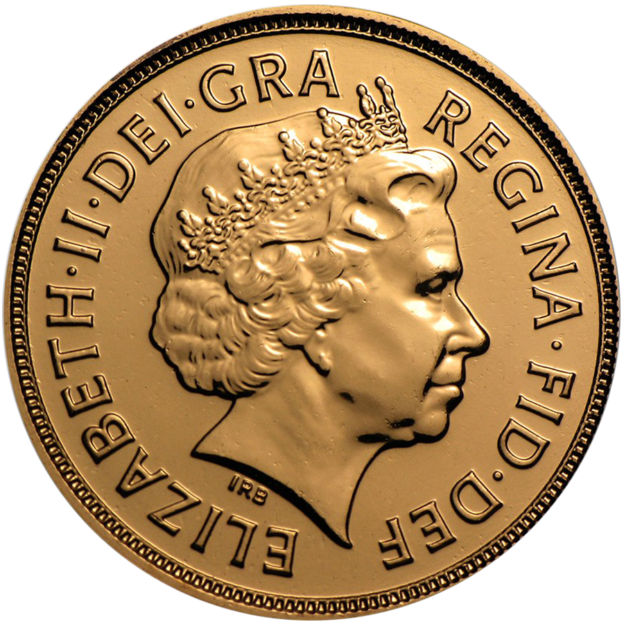 Pre-Owned 2012 UK Full Sovereign Gold Coin (Image 2)