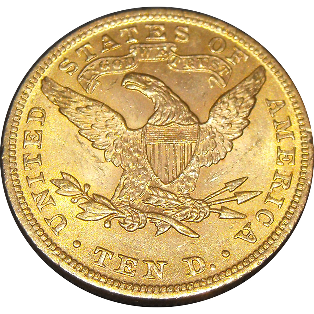 Pre Owned Usa 10 Double Eagle Gold Coin Mixed Dates