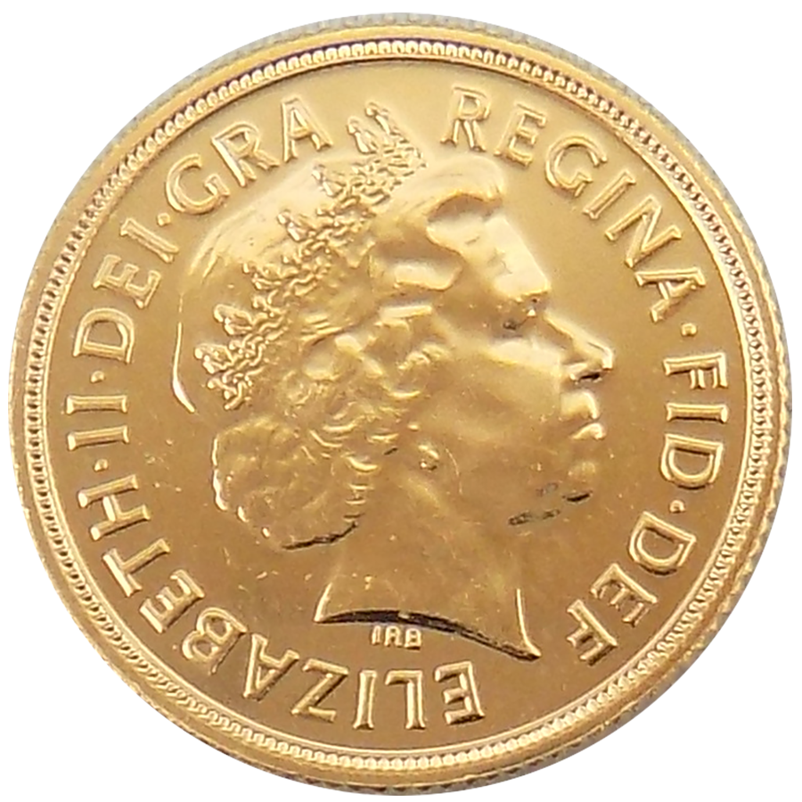 Pre-Owned 2010 UK Full Sovereign Gold Coin