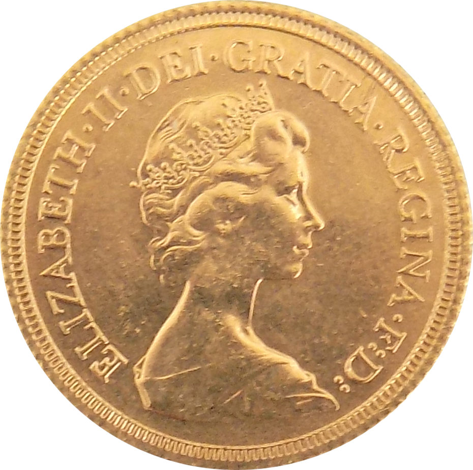 Pre-Owned 1979 UK Elizabeth II Full Sovereign Gold Coin