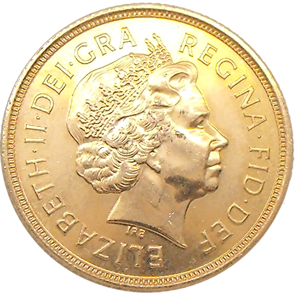 Pre-Owned 2004 UK Full Sovereign Gold Coin