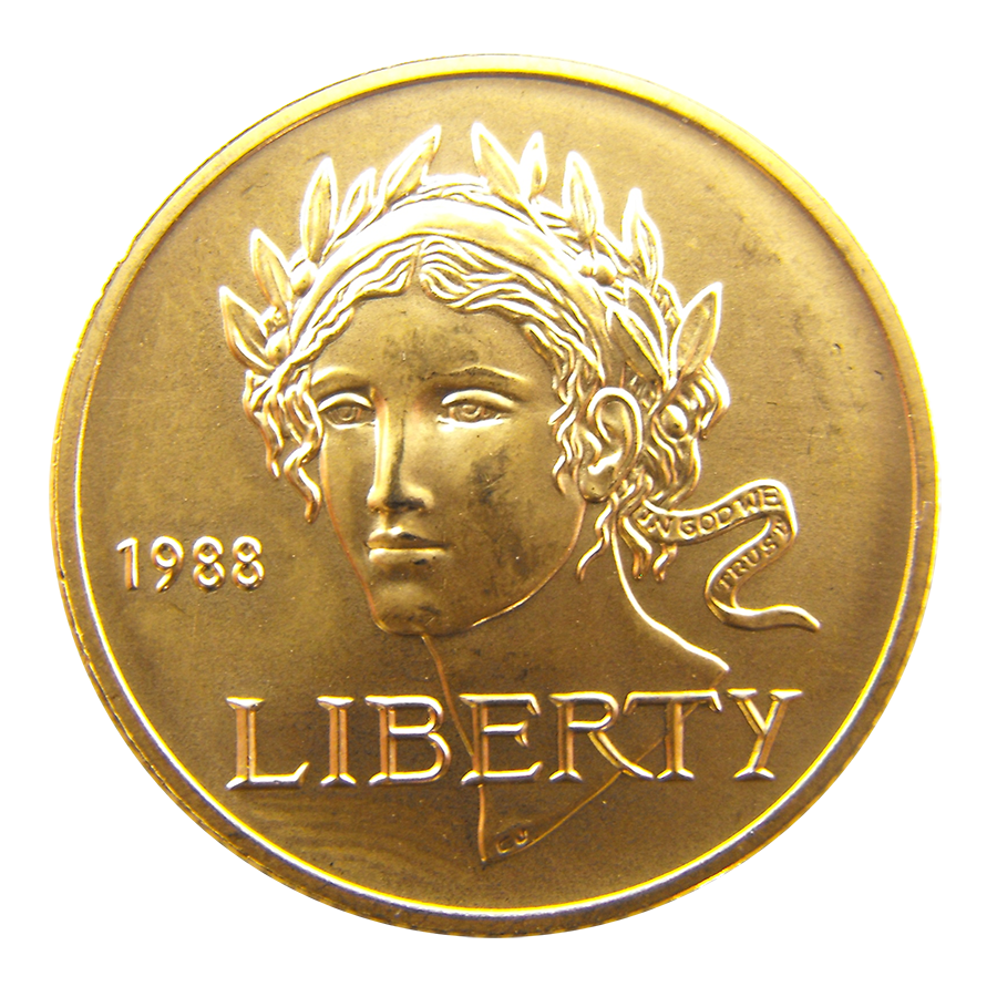 1988 Usa Olympic 5 Gold Coin Gold Bullion Coins For Sale